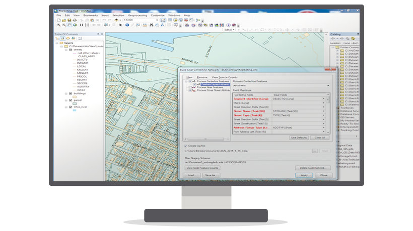 Product Screenshot of Intelligent Mapping
